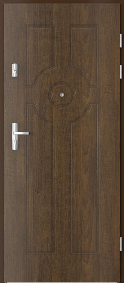 Drzwi wejściowe do mieszkania KWARC frezowane model 6