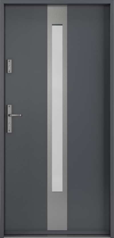 Drzwi wejściowe do domu Steel SAFE RC3 C1
