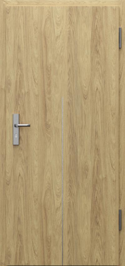 Drzwi techniczne INNOVO 42dB Intarsje 9