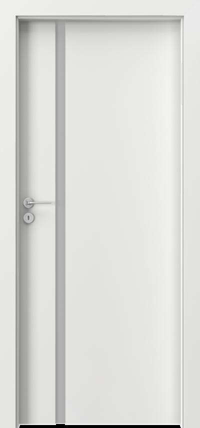 Interiérové dvere Porta FOCUS   Laminát CPL HQ 0,2 *****  Biela