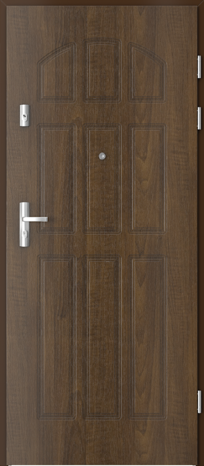 Drzwi wejściowe do mieszkania KWARC frezowane model 3
