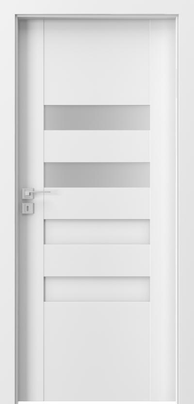 Drzwi wewnętrzne Porta KONCEPT H.2 Okleina Portadecor *** Biały