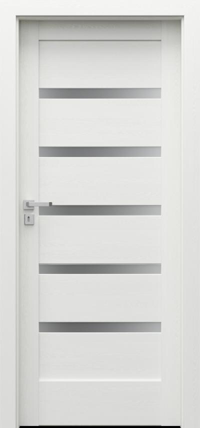 Drzwi wewnętrzne Porta VERTE HOME, H H.5 Okleina Portadecor *** Biały