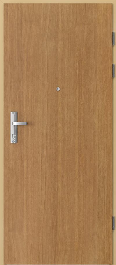 Drzwi wejściowe do mieszkania EXTREME RC3 płaskie pion Okleina Naturalna Dąb Satin **** Dąb Winchester