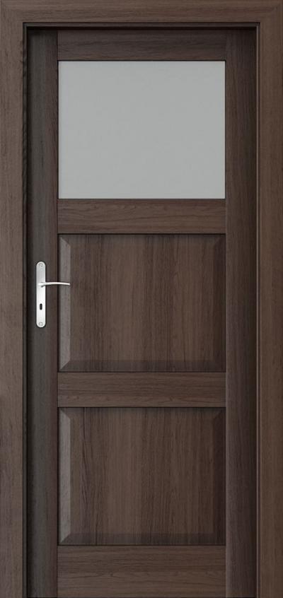 Drzwi wewnętrzne Porta BALANCE D.1 Okleina Portaperfect 3D **** Dąb Hawana