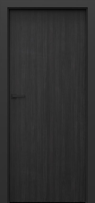Drzwi wewnętrzne Porta LOFT 1.1 Okleina CPL HQ 0,2 ***** Struktura ciemny