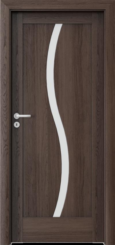 Drzwi wewnętrzne Porta VERTE HOME, E-F E.1 Okleina Portaperfect 3D **** Dąb Hawana