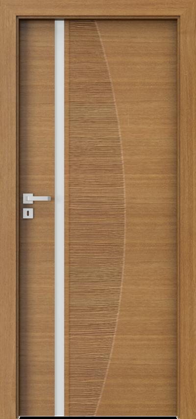 Drzwi wewnętrzne Natura IMPRESS 8 Okleina Naturalna Dąb Satin **** Dąb Winchester