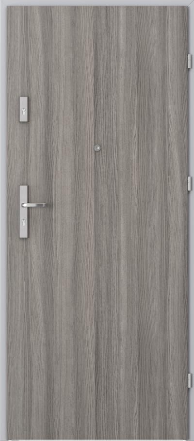 Drzwi wejściowe do mieszkania OPAL Plus pełne Okleina CPL HQ 0,2 ***** Dąb Milano 4