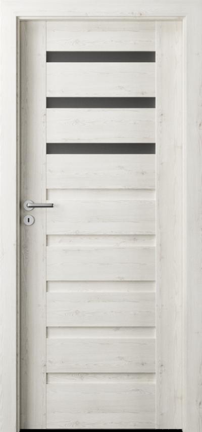 Drzwi wewnętrzne Porta VERTE PREMIUM, D D.3 Okleina Portasynchro 3D *** Sosna Norweska