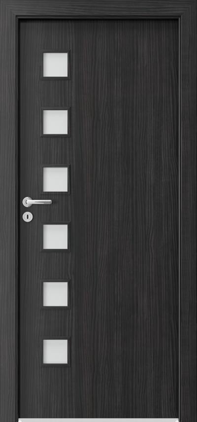 Drzwi wewnętrzne Porta FIT A.6 Okleina CPL HQ 0,2 ***** Struktura ciemny