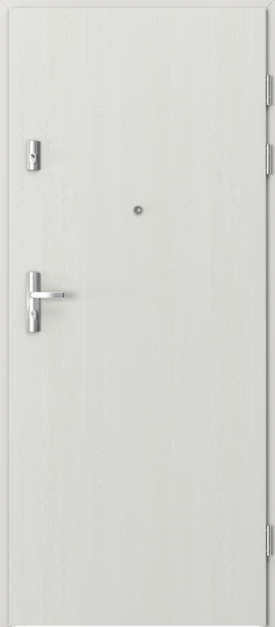 Drzwi wejściowe do mieszkania KWARC pełne Okleina Portasynchro 3D *** Wenge White