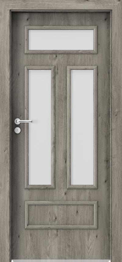 Drzwi wewnętrzne Porta GRANDDECO 2.3 Okleina Portaperfect 3D **** Dąb Syberyjski