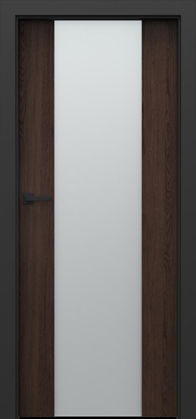 Drzwi wewnętrzne Porta LOFT 4.B Okleina Portaperfect 3D **** Dąb Hawana