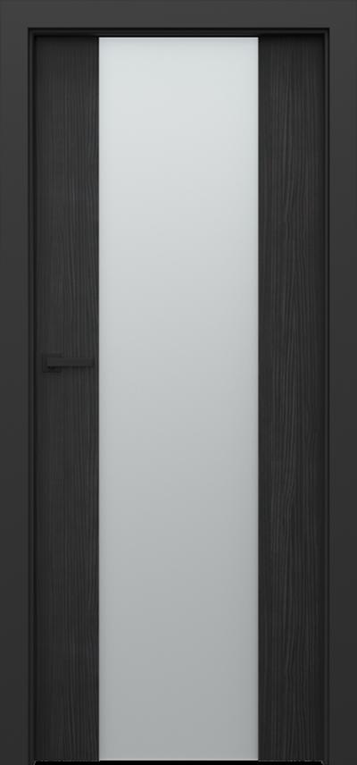 Drzwi wewnętrzne Porta LOFT 4.B Okleina CPL HQ 0,2 ***** Struktura ciemny
