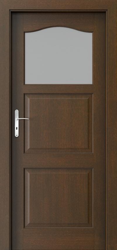 Interiérové dvere MADRID 1/3 sklo