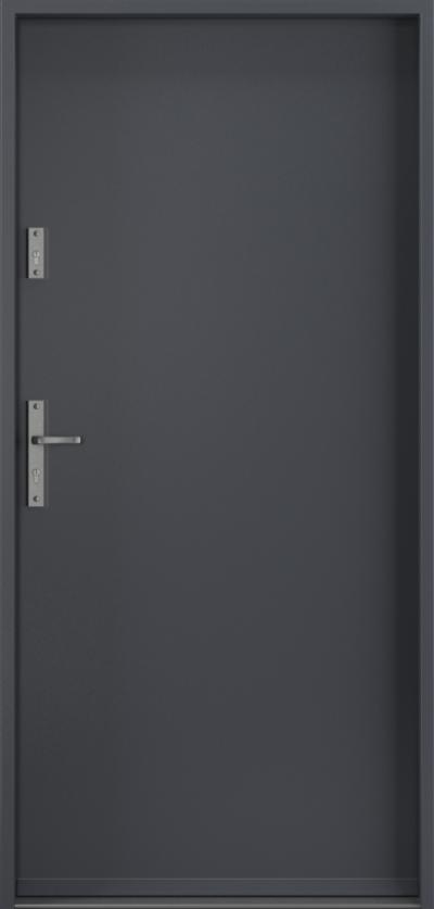 Drzwi wejściowe do domu Steel SAFE RC2 A0