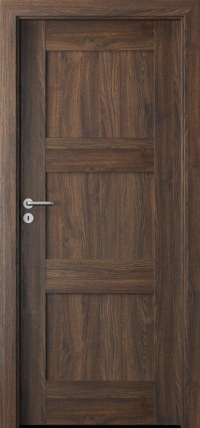 Drzwi wewnętrzne Porta VERTE PREMIUM, B B.0 Okleina Portasynchro 3D *** Dąb Szkarłatny