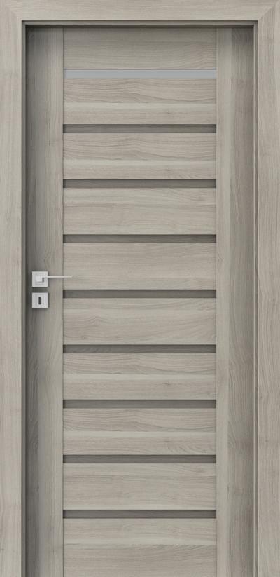 Drzwi wewnętrzne Porta KONCEPT A.1 Okleina Portasynchro 3D *** Akacja Srebrna