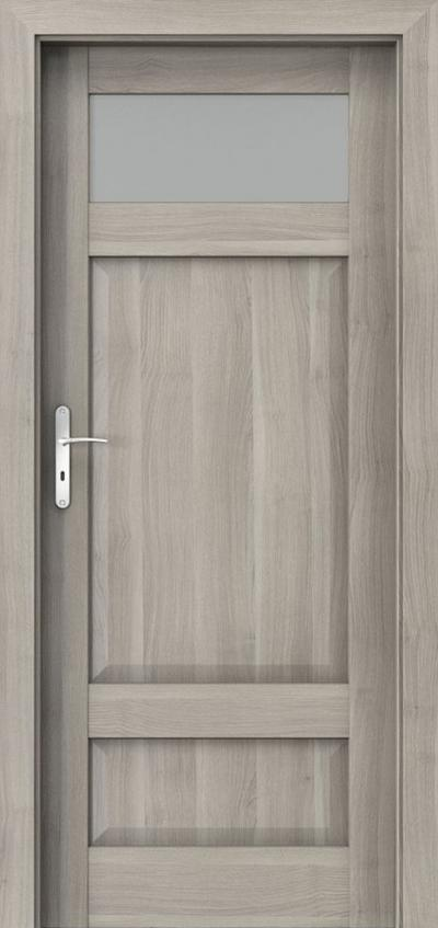 Drzwi wewnętrzne Porta HARMONY C.1 Okleina Portasynchro 3D *** Akacja Srebrna