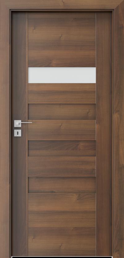 Interiérové dveře Porta KONCEPT  Fólie Portadecor *** Ořech