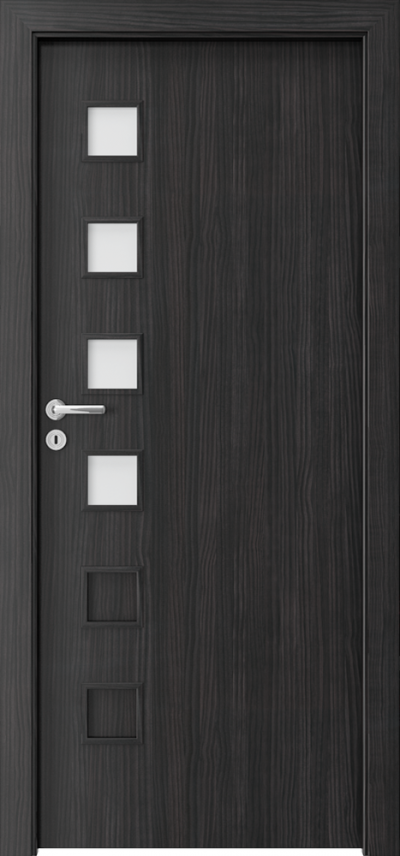 Interior doors Porta FIT A.4 CPL HQ 0.2 veneer ***** Structure Dark