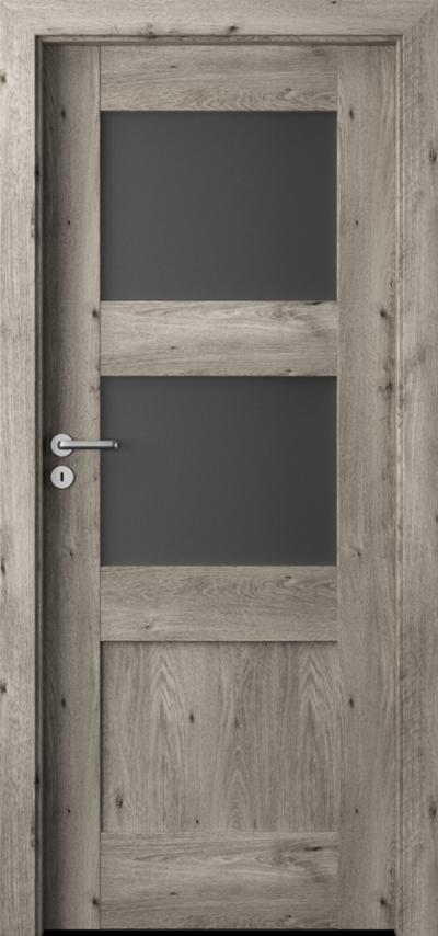 Drzwi wewnętrzne Porta VERTE PREMIUM, B B.2 Okleina Portaperfect 3D **** Dąb Syberyjski