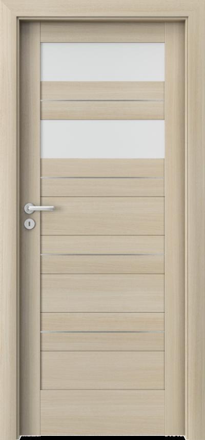 Drzwi wewnętrzne Porta VERTE HOME, C C.2 intarsje Okleina Portaperfect 3D **** Dąb Malibu