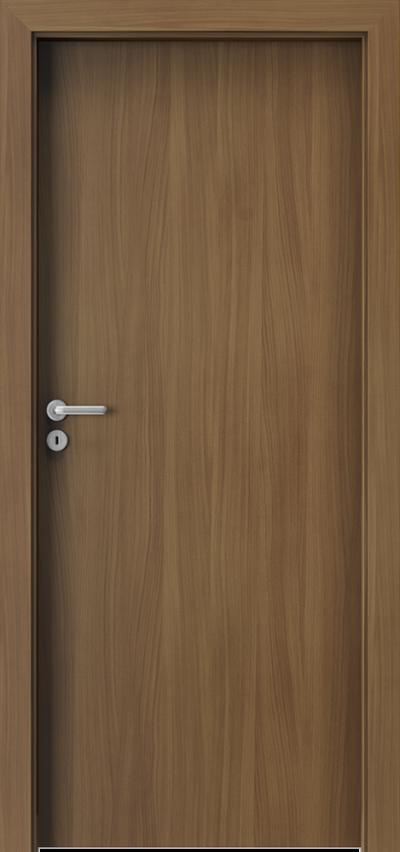 Drzwi wewnętrzne Porta VERTE BASIC pełne Płyta lakierowana Orzech