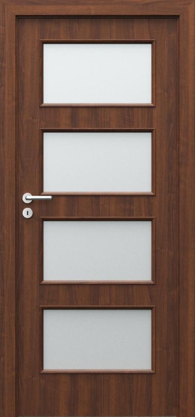 Drzwi wewnętrzne Porta NOVA 5.5 Okleina Portadur **** Orzech 4