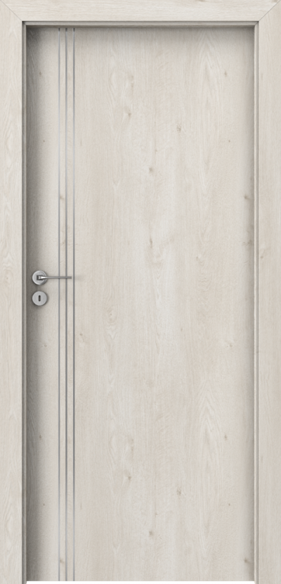 Drzwi wewnętrzne Porta LINE B.1 Okleina Portaperfect 3D **** Dąb Skandynawski