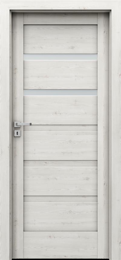 Drzwi wewnętrzne Porta VERTE HOME, H H.2 Okleina Portasynchro 3D *** Sosna Norweska