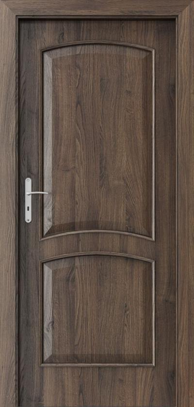 Drzwi wewnętrzne Porta NOVA 6.1 Okleina Portasynchro 3D *** Dąb Szkarłatny