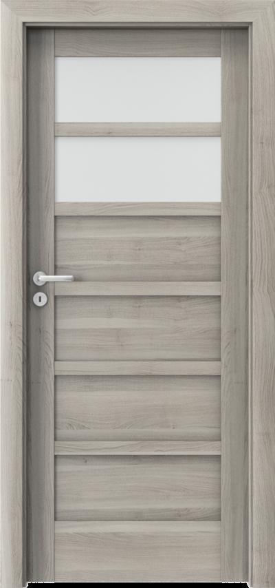 Drzwi wewnętrzne Porta VERTE HOME, A A.2 Okleina Portasynchro 3D *** Akacja Srebrna