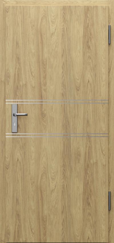 Drzwi techniczne INNOVO 37dB Intarsje 4