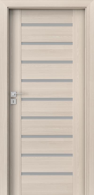 Innenraumtüren Porta CONCEPT A.9 Furnier Portadecor *** Nußbaum Weiß