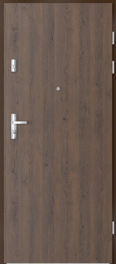 Podobne produkty                                  Drzwi wejściowe do mieszkania                                  KWARC pełne  - pionowy układ okleiny