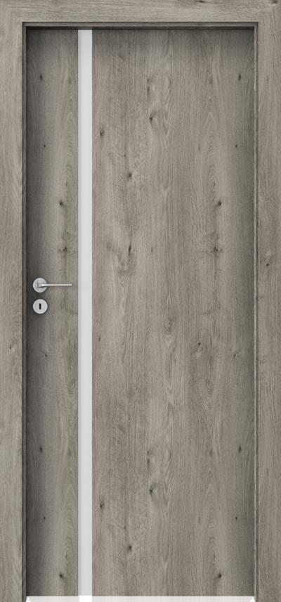 Drzwi wewnętrzne Porta FOCUS 4.A Okleina Portaperfect 3D **** Dąb Syberyjski