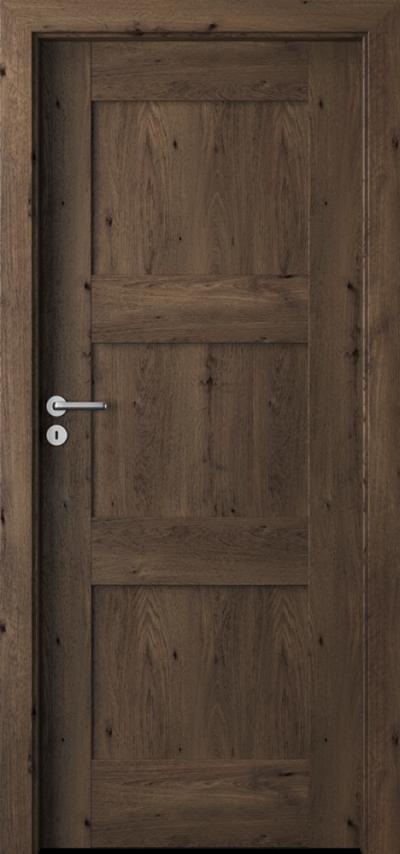 Drzwi wewnętrzne Porta VERTE PREMIUM, B B.0 Okleina Portaperfect 3D **** Dąb Południowy