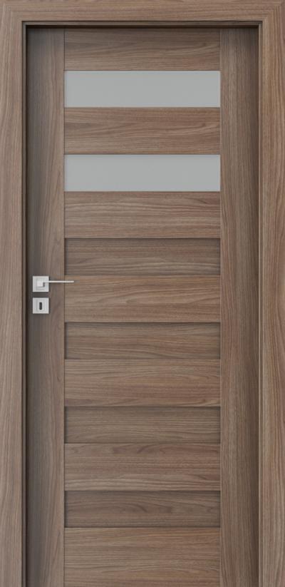 Drzwi wewnętrzne Porta KONCEPT C.2 Okleina Portadecor *** Orzech Verona 2