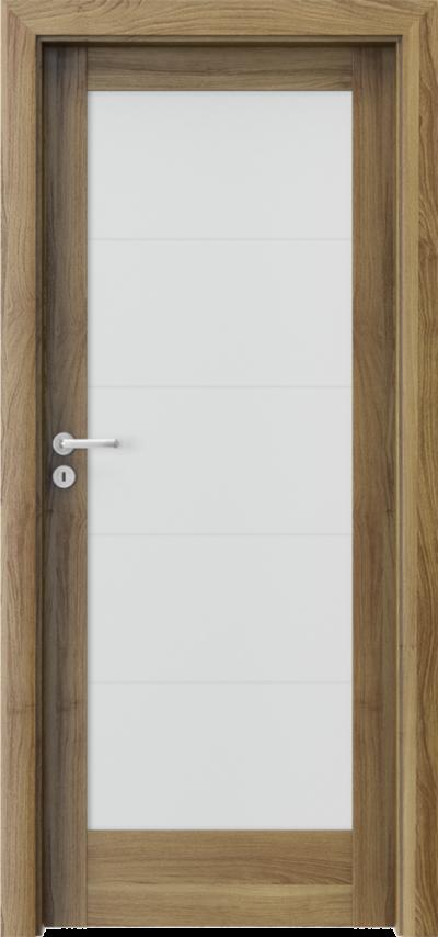 Drzwi wewnętrzne Porta VERTE HOME, B B.5 Okleina Portasynchro 3D *** Akacja Miodowa