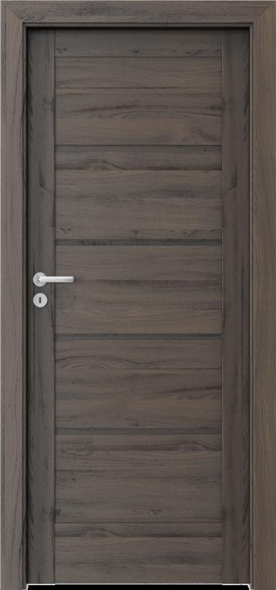 Drzwi wewnętrzne Porta VERTE HOME, G G.0 Okleina Portasynchro 3D *** Dąb Ciemny