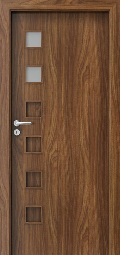 Interior doors Porta FIT A.2 CPL HQ 0.2 veneer ***** Walnut Modena 1