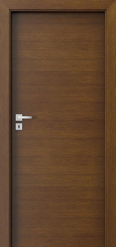 Drzwi wewnętrzne Natura CLASSIC 7.1 Okleina Naturalna Dąb Satin **** Tabacco