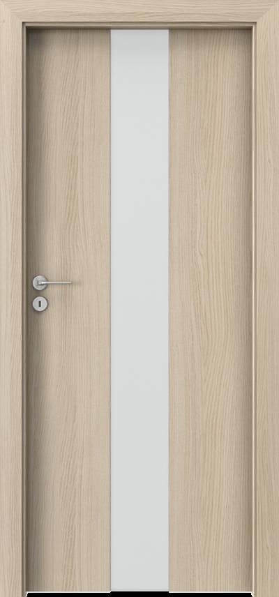 Drzwi wewnętrzne Porta FOCUS 2.0 szyba matowa Okleina CPL HQ 0,2 ***** Dąb Milano 1