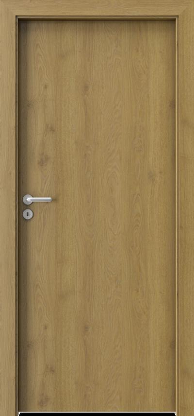 Drzwi wewnętrzne Porta DECOR P Okleina Portaperfect 3D **** Dąb Naturalny