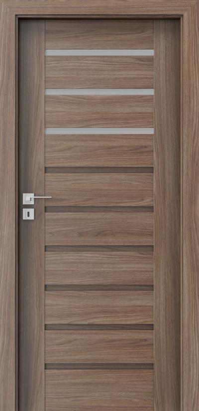 Drzwi wewnętrzne Porta KONCEPT A.3 Okleina Portadecor *** Orzech Verona 2
