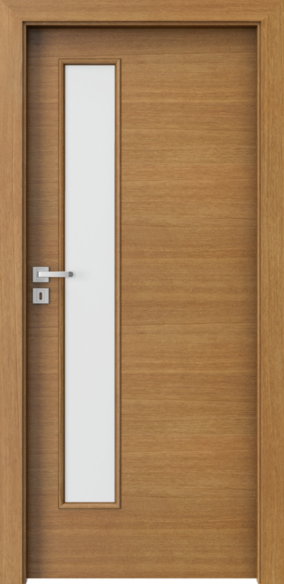 Drzwi wewnętrzne Natura CLASSIC 7.4 Okleina Naturalna Dąb Satin **** Dąb Winchester