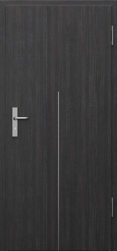 Technical doors INNOVO 42 dB Intarsje 9 CPL HQ 0.2 veneer ***** Structure Dark
