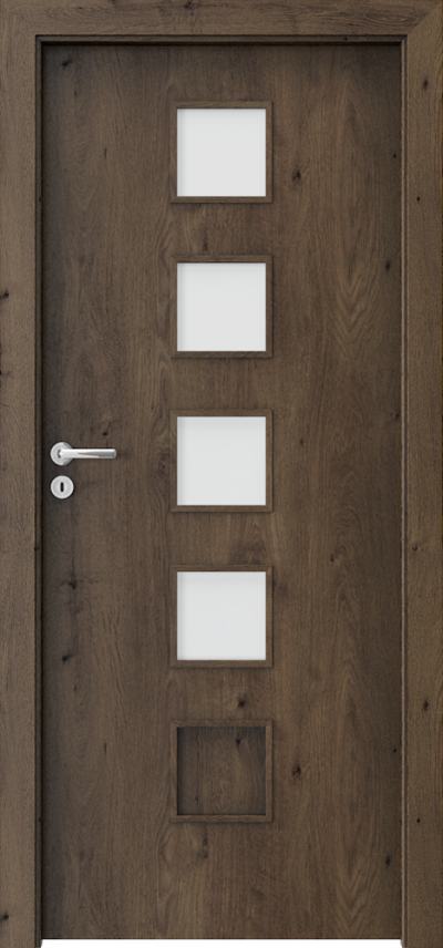 Interior doors Porta FIT B.4 Portaperfect 3D veneer **** South Oak